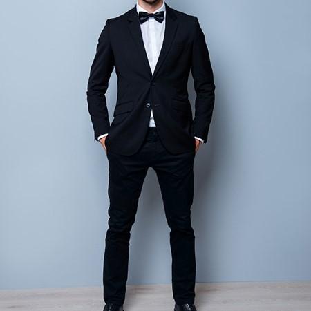Аренда черного костюма «CLASSIC»