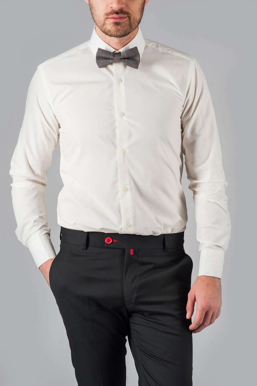 Классическая сорочка айвори
