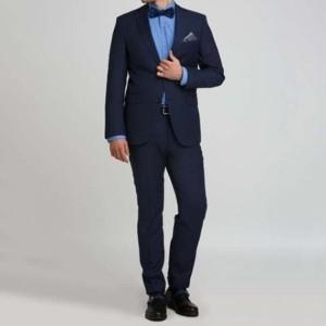Аренда синего костюма «CLASSIC»