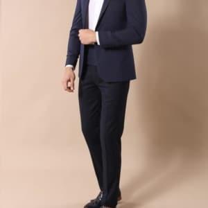 Аренда синего костюма «Eleganto»