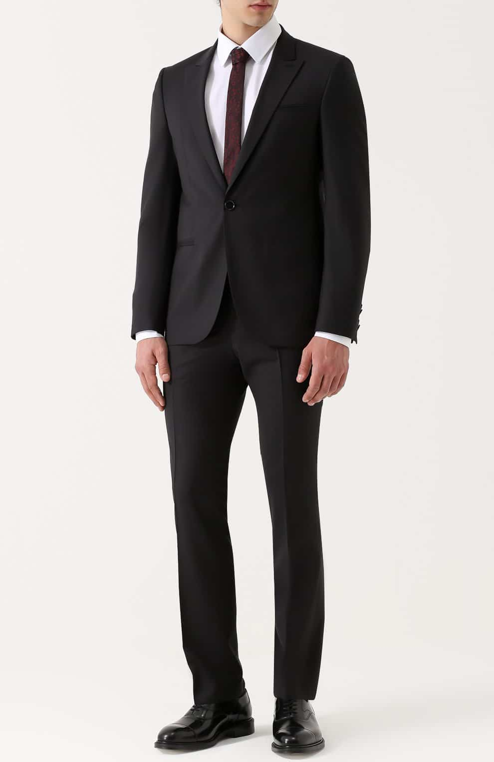Аренда черного костюма «Eleganto»