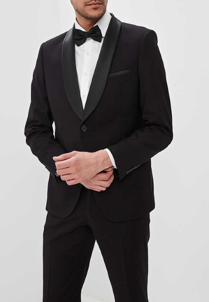 Аренда черного смокинга «J.B.007»