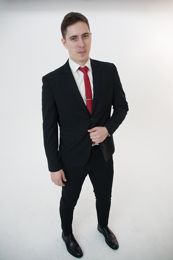 Черный костюм «Classic»