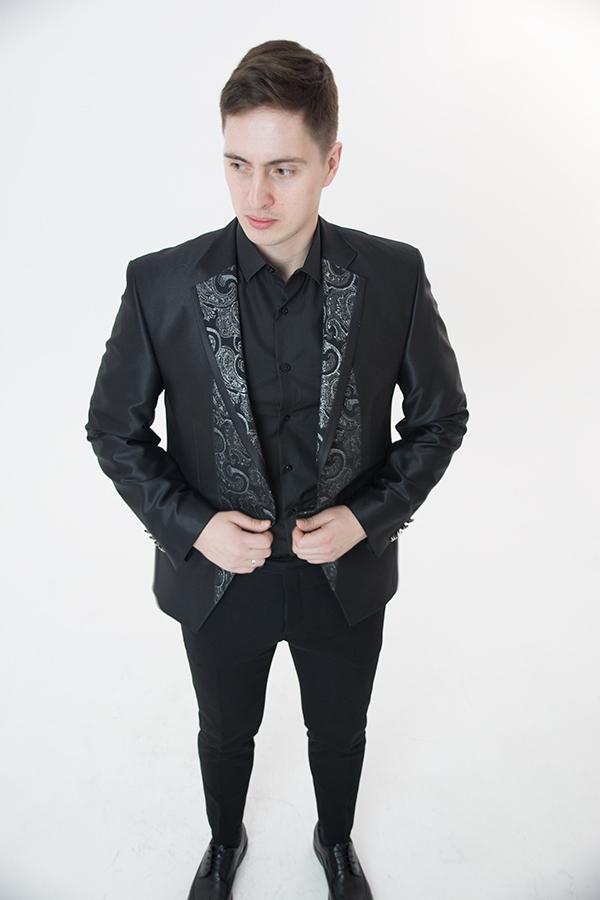 Черный пиджак «Simoni»