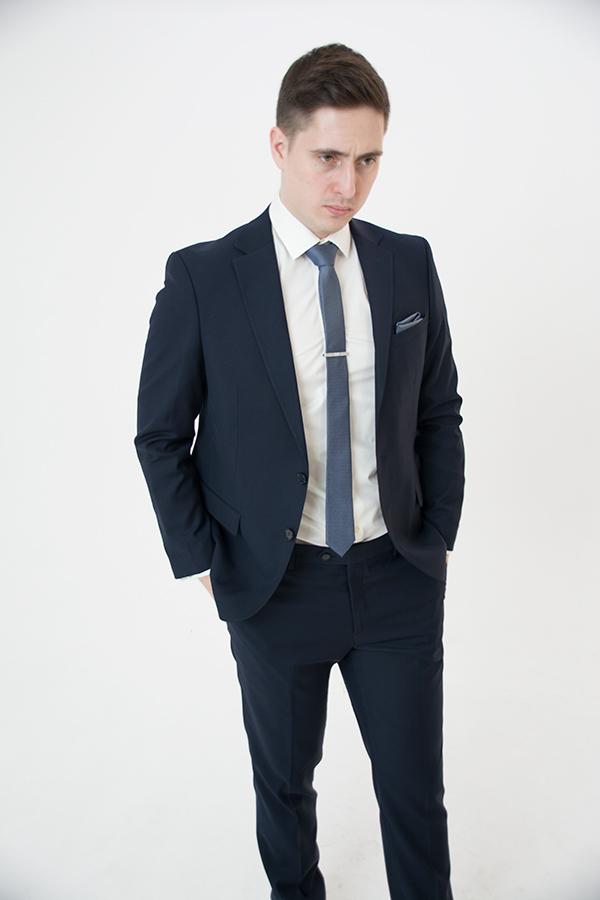 Синий костюм «Belfor»
